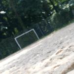 Beachsoccerfeld im Hochschulstadion