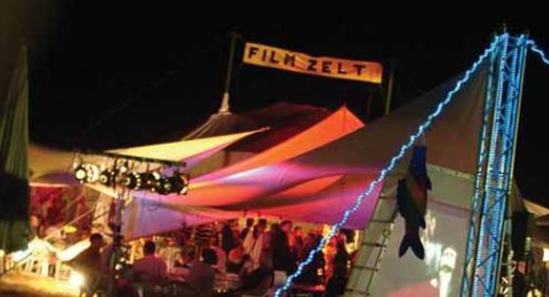 Das Kurzfilm-Programm im umfunktionierten ZirkuszeltFoto: Filmfest Weiterstadt