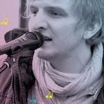Straßenmusik in Darmstadt