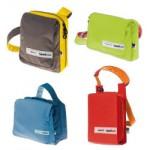 Taschen von Airbag, Logstoff und Zwei