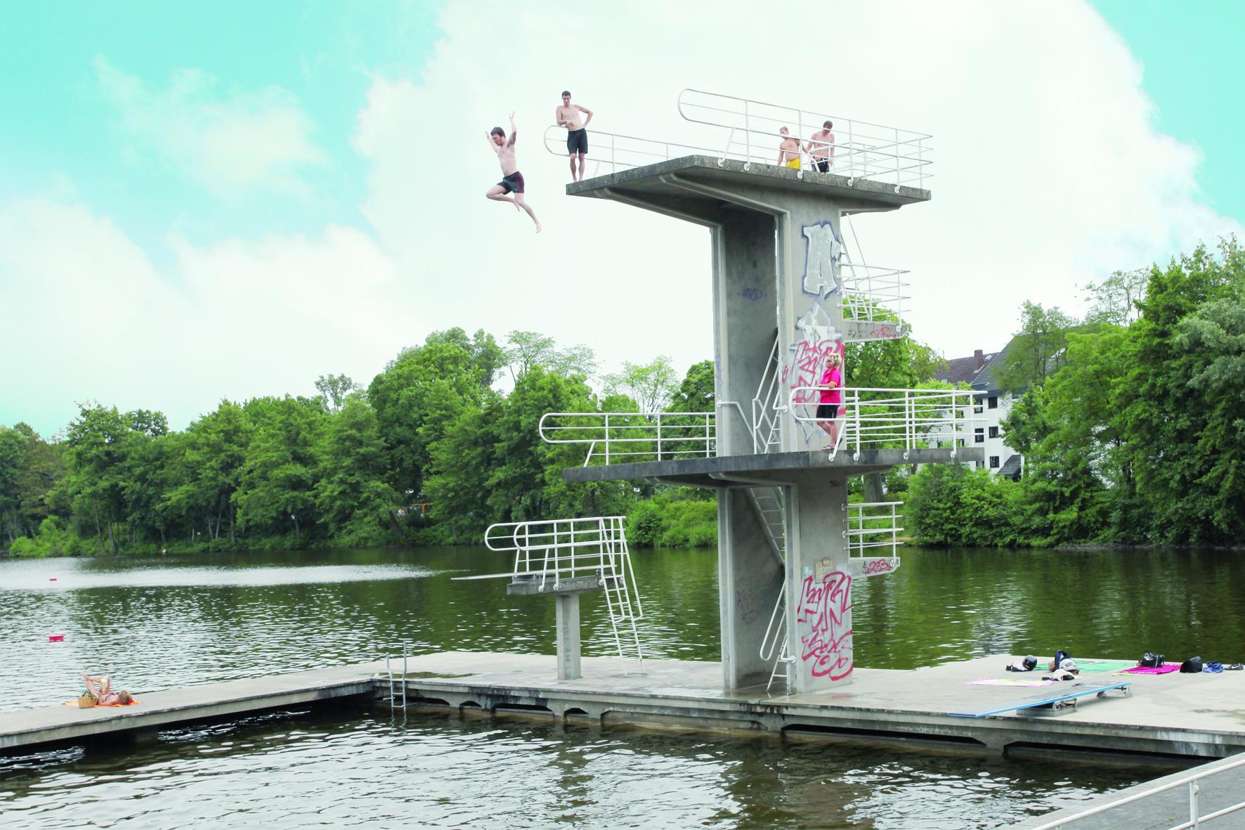 Schwimmbäder Darmstadt über freibäder und sprungtürme p stadtkultur darmstadtp