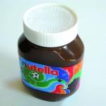 """Das Nutella-Etikett """"Pfeifenwirbel"""""""