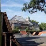 Der Skatepark an der Stadtmauer