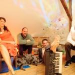 "La Java Blue Quartett: ""Aschenbrödel hat drei Nüsse"""
