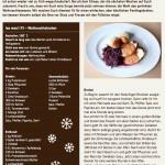 Weihnachtsbraten mit Semmelknödel und Rotkraut