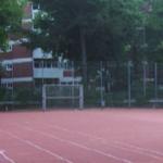 Bolzplatz an der Mühltalschule in Eberstadt