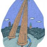 Nicola Kochs illustrierter Darmstadt-Kalender 2012
