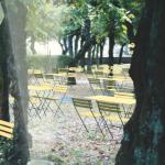 Der Schlossgarten: Pausenbrot unter Hainbuchen