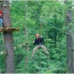 """Der Kletterwald: Hobbytarzan im """"Treemanpark"""""""