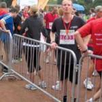 Als Teilnehmer beim 1. Darmstadt-Marathon