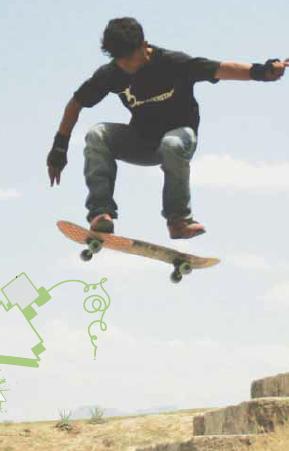 Foto: Skateistan Illustration: Daniel Wiesen
