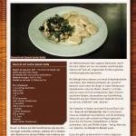 Gnocchi mit Lachs-Spinat-Soße