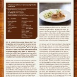 Schweinemedaillons in Calvados-Apfelsoße mit Spätzle
