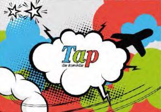 Logo: Komödie Tap