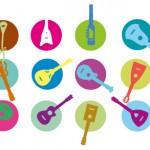 Regionale Musik-Festival-Übersicht