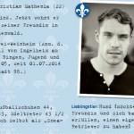 """Lilien""-Poesiealbum: Christian Mathenia"