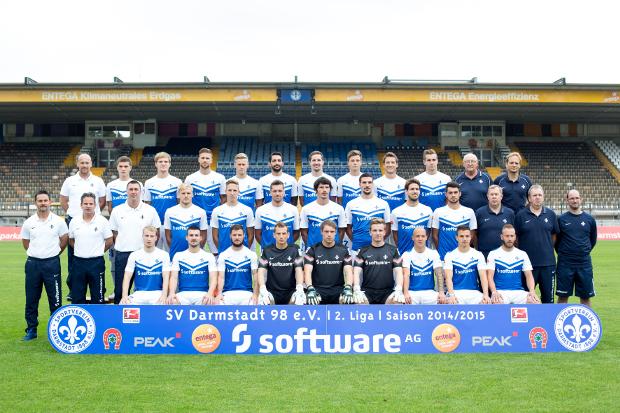 United we stand: SV Darmstadt 98, Saison 2014/15Foto: SV Darmstadt 98
