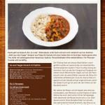 Veggie-Gulasch mit Spätzle