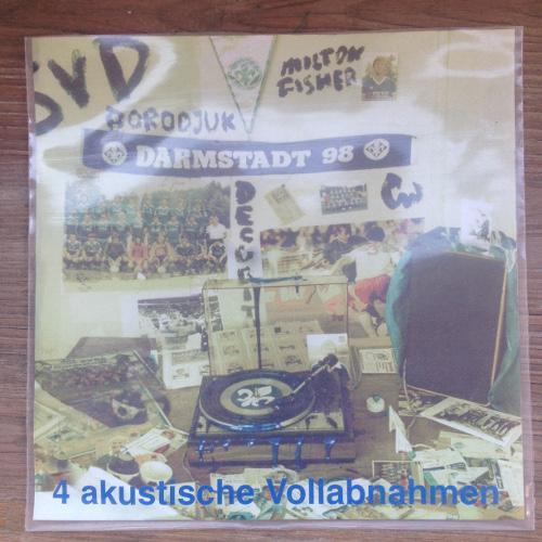 """Ich glaube an den SVD – Gerald Wrede  (""""4 akustische Vollabnahmen"""" EP 2001)"""