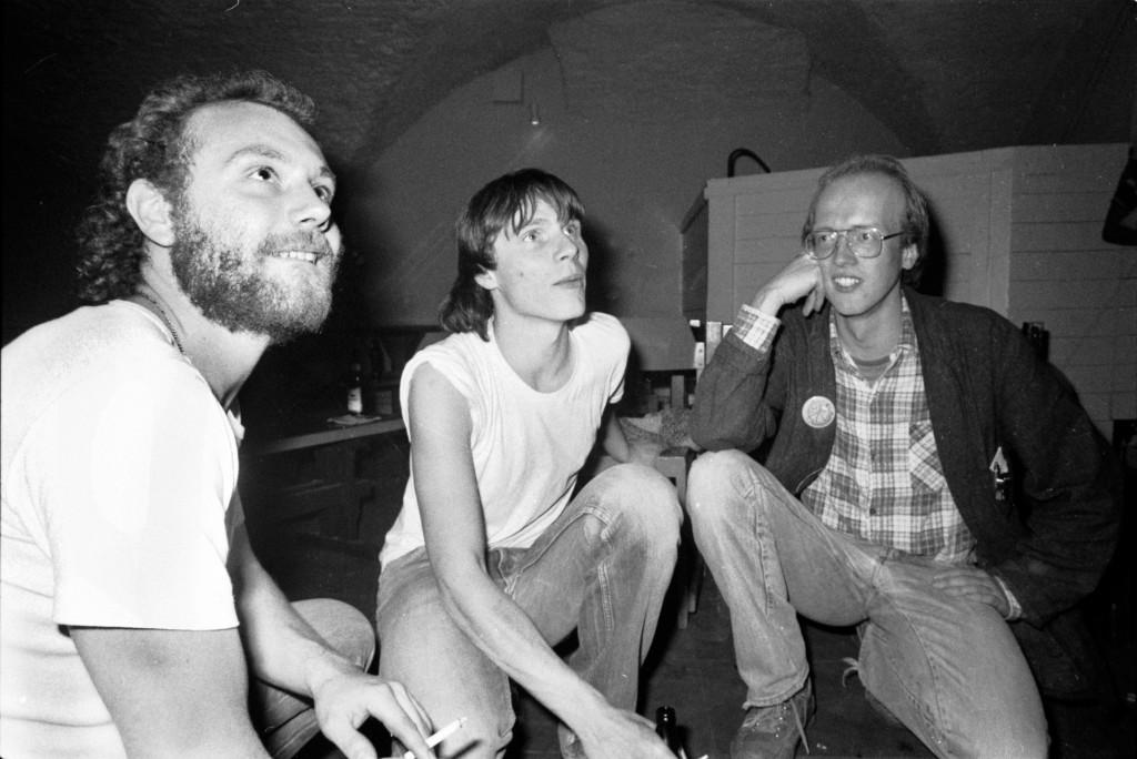 """Die """"Starfucker"""" im Schlosskeller Darmstadt am 13. November 1984"""