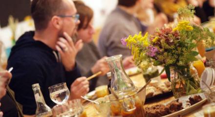 Tischdienst – Köche im Austausch