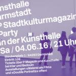 Party! 8 Jahre P Magazin + 59 Jahre Kunsthalle
