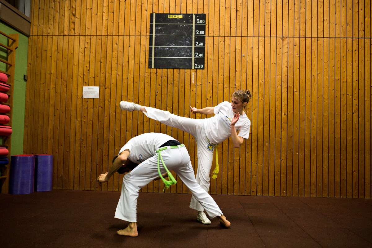 Integration durch Capoeira