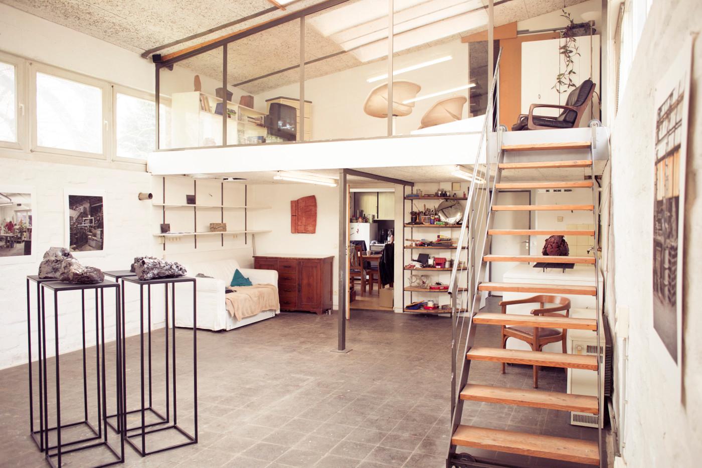 ein raum f r alle das atelier siegele an der rosenh he p stadtkultur darmstadtp stadtkultur. Black Bedroom Furniture Sets. Home Design Ideas