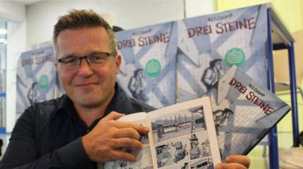 Darmstädter Comic-Bühne: Nils Oskamp liest laut
