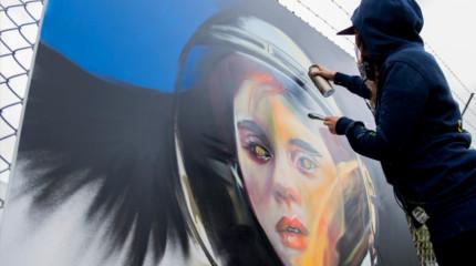 """""""Graffiti without Gravity"""""""