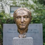Bärbel Dieckmann, Luise-Büchner-Denkmal, 2017